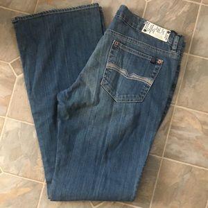 Buffalo Bianca stretch flare jeans new